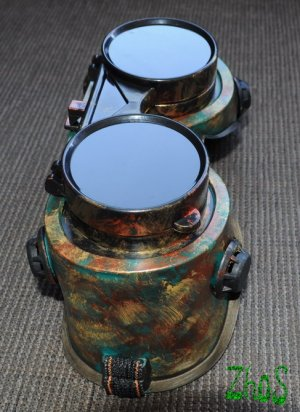 Steampunk Cosplay Anime Larp Cyber Goggles 139