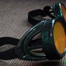 Steampunk Cyber Goggles Glasses Cosplay Anime Larp 198or