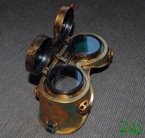 Steampunk Cosplay Anime Cyber Goggles 153