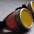 Steampunk Cyber Goggles Glasses Cosplay Anime Rave 200