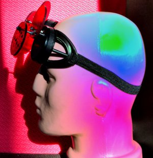 Steampunk Goggles Glasses Cyber HI TECH PEOPLE post Apocalypse mad professor