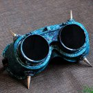Steampunk Goggles Glasses Cyber post Apocalypse mad professor SPIKES