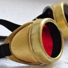 Steampunk Cyber Goggles Glasses Cosplay Anime Larp Rave 300kr