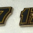 EARRINGS POST STUD #17 MATT KENSETH NASCAR AUTO RACING