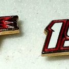 EARRINGS POST STUD #19 ELLIOTT SADLER NASCAR AUTORACING