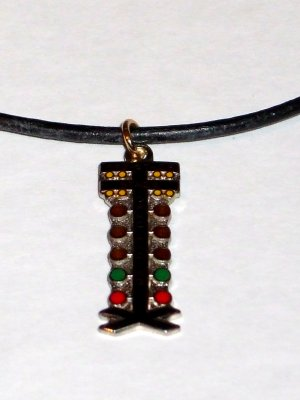 Auto Racing Charms Jewelry Wholesale on Nhra Drag Tree Staging Light Racing Jewelry Necklace
