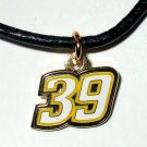 CHARM NECKLACE #39 RYAN NEWMAN NASCAR RACING JEWELRY