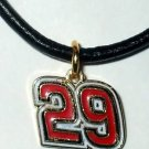 CHARM NECKLACE #29 KEVIN HARVICK NASCAR RACING JEWELRY