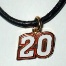 CHARM NECKLACE #20 JOEY LOGANO NASCAR RACING JEWELRY