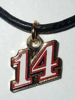 CHARM NECKLACE #14 TONY STEWART  NASCAR RACING JEWELRY