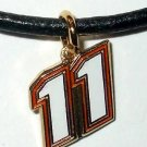 CHARM NECKLACE #11 DENNY HAMLIN NASCAR RACING JEWELRY