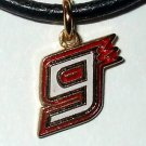 CHARM NECKLACE #9 KASEY KAHNE NASCAR RACING JEWELRY