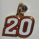 CHARM #20 JOEY LOGANO NASCAR AUTO RACING JEWELRY