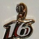 CHARM #16 GREG BIFFLE NASCAR AUTO RACING RACE JEWELRY