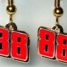 EARRINGS DANGLE #88 DALE EARNHARDT JR NASCAR JEWELRY