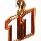 CHARM #11 NASCAR SPRINT CUP NATIONWIDE AUTO RACING BODY JEWELRY MX SX FOOTBALL