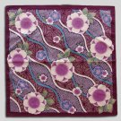 Furoshiki/ Beautiful Sakura, Purple, Made in Japan New!
