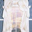 CAROLINA RUFFLED CURTAINS - 100 W x 45 L