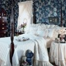 CAROLINA RUFFLED BEDSPREAD - QUEEN SIZE