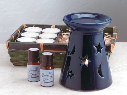 Celstial Oil Warmer Set