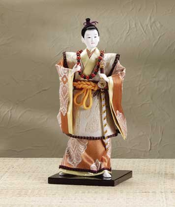 29106 Porcelain Samurai Figurine with Sword