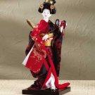 29105 Porcelain Kabuki Dancer Doll