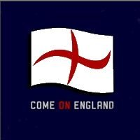 Flash The Flag Flashing England Window Flag Medium