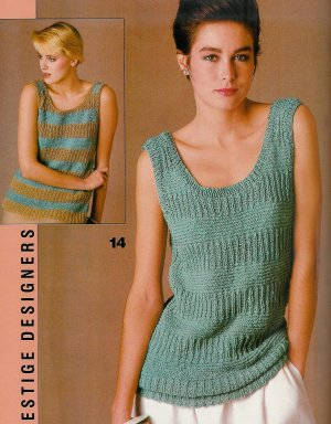 VOGUE KNITTING Spring Summer 1983 Lacy Romantic Sweaters