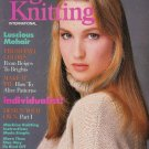VOGUE KNITTING Fall Winter 1987 Mohair Cable Sweaters Vittadini Perry Ellis