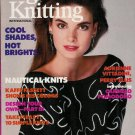 VOGUE KNITTING Spring Summer 1988 Nautical Knits Sweaters