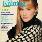 VOGUE KNITTING Fall Winter 1988 Fair Isle Aran Cable Sweaters