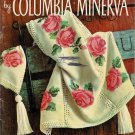 Vintage 60s Afghans Columbia-Minerva Knitting Crochet Patterns Book