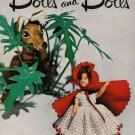 VINTAGE 50s STAR DOLLS BRIDE STORYBOOK CROCHET PATTERNS