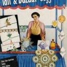 Vintage 50s PINEAPPLE PINCUSHION PEACOCK DOILY Crochet