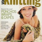 VOGUE KNITTING Fall 2004 Ponchos Wraps Capes Fair Isle Sweaters Leg Warmers