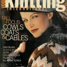 VOGUE KNITTING Fall 2001 Cowls Coats & Cables