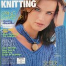 VOGUE KNITTING Spring Summer 1998 Sheer Knits Lace Shawl Ribbon