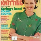 VOGUE KNITTING Spring Summer 1997 Dresses Tops Fair Isle