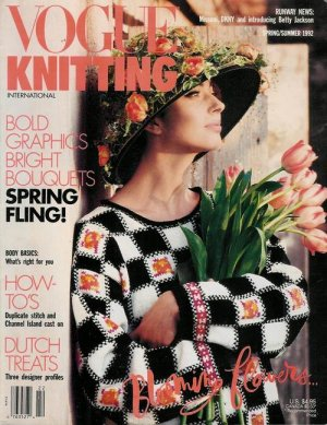 VOGUE KNITTING Spring Summer 1992 Floral Trapeze Lace Missoni