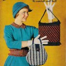 Vintage 1950s TOYS COLLARS PURSES Knit Crochet Patterns