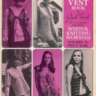 Vintage 60s GYPSY VESTS SWEATERS Knit Crochet Patterns