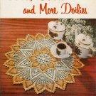 Crochet Knit Patterns Doilies Star Book 120 Pineapple Flower Ruffle Wheat 1955
