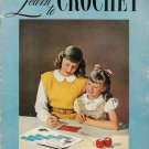Vintage 1940s Techniques Learn How to Crochet Patterns