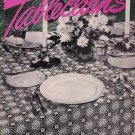 Vintage 1940s Tablecloths Place Settings Crochet Patterns