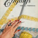 VINTAGE 50s EDGINGS KNIT CROCHET TATTING PATTERNS