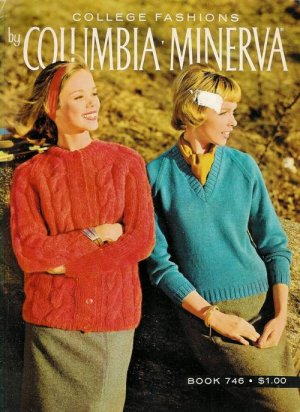 VINTAGE 60s CARDIGANS PULLOVERS COAT KNITTING PATTERNS