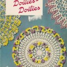 VINTAGE 50s DOILIES FLOWER RUFFLE CROCHET PATTERNS