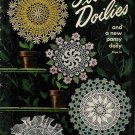 Vintage 40s FLOWER DOILY DOILIES Crochet Patterns Book
