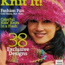 KNIT IT 2004 AFGHAN SOCKS KNITTING CROCHET PATTERNS