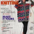 VOGUE KNITTING Fall 1991 Nature Ethnic Graphics Sweaters Missoni Vittadini